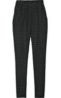 Etoile Isabel Marant Hugh Printed Cotton Harem Pants - Lyst