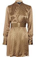 Clemens En August Printed Silk Kimono Dress - Lyst