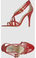 Guess High-heeled Sandals - Lyst