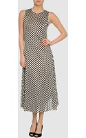 Gareth Pugh Long Dress - Lyst