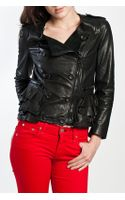 3.1 Phillip Lim Motorcycle Leather Jacket in Black - Lyst