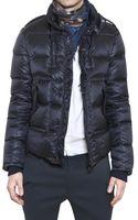Balmain Nylon Down Jacket - Lyst