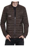 Dolce & Gabbana Matt Nylon Quilted Lightweight Jacket - Lyst