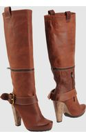 Goffredo Fantini High-heeled Boots - Lyst