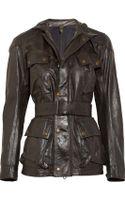 Belstaff Leather Jacket - Lyst