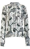 Balenciaga Paisley Blouse - Lyst