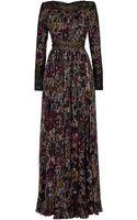 Eastland Print Chiffon Gown - Lyst