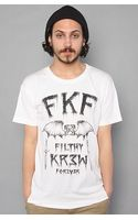 Kr3w The Fkf Premium Tee in White - Lyst