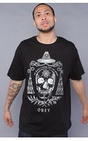 Obey The Alchemist Basic Tee in Black - Lyst