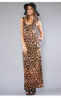 Mink Pink The Jungle Fever Maxi Dress - Lyst