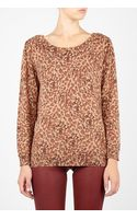 Marc By Marc Jacobs Leopard Print Sweater - Lyst
