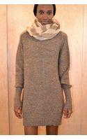 Giada Forte Alpaca & Lurex Sweater Dress - Lyst