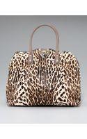 Valentino Rockstud Animal-print Dome Bag - Lyst