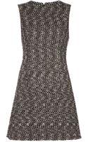 Alexander McQueen Tweed Dress - Lyst