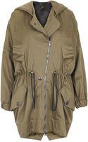 Vivienne Westwood Anglomania Khaki Drawstring Parka Jacket - Lyst