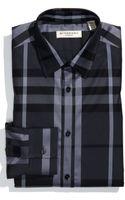 Burberry London London Trim Fit Dress Shirt - Lyst