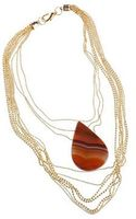 Caipora Jewellery Caramel Agate Maxi Necklace - Lyst
