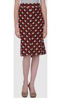Diane Von Furstenberg 3 4 Length Skirts - Lyst