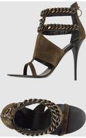 Giuseppe Zanotti High-heeled Sandals - Lyst