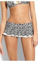 Juicy Couture Little Lulu Skirted Bikini Bottoms - Lyst