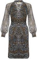 Issa Blouson Dress - Lyst