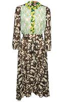 Duro Olowu Ikat Print Dress - Lyst