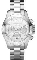 Michael Kors Stainless Steel Chronograph Layton Watch - Lyst