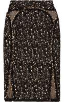 Zac Posen Bouclé Pencil Skirt - Lyst