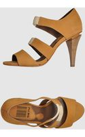 Get U High Heeled Sandals - Lyst