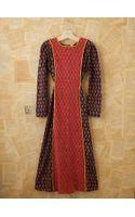 Free People Vintage Indian Batik Dress - Lyst