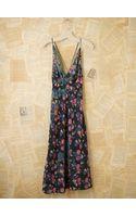 Free People Vintage Silk Floral Dress - Lyst
