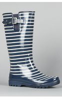 Sperry Top-sider The Pelican Rain Boot in Navy Stripe - Lyst