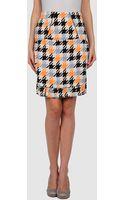 Marni Knee Length Skirts - Lyst