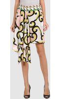 Diane Von Furstenberg Mini Skirt - Lyst