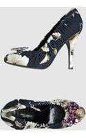 Dolce & Gabbana Closed Toe Slip Ons - Lyst