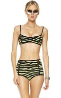 Michael Kors Zebra-print Retro Bikini - Lyst