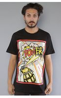 Obey The Power Basic Tee In Black - Lyst