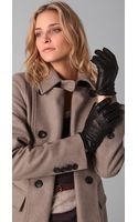 Club Monaco Leslie Slit Gloves - Lyst