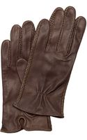 Mango Leather Gloves - Lyst