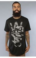 Wesc The Overlay Pattern Tee in Black - Lyst