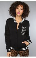 Wesc The Laika Fleece Jacket in Black - Lyst