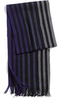 Ted Baker Striped Scarf - Lyst