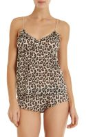 3.1 Phillip Lim Leopard Babydoll Cami - Lyst
