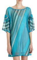 Missoni Tonal Stripe Tunic Dress - Lyst