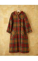 Free People Vintage Plaid Trench - Lyst