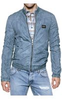 Dolce & Gabbana Washed Nylon Sport Jacket - Lyst
