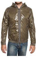 Duvetica Shiny Nylon Foldable Alete Sport Jacket - Lyst