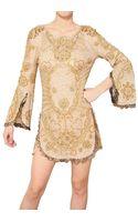 Emilio Pucci Sequin Silk Tulle Dress - Lyst