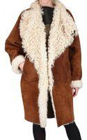 Fendi Reversible Sheepskin Fur Coat - Lyst