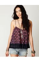 Free People Fp One Printed Cami - Lyst